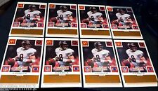 JIM MCMAHON 1986 McDonald's All-Star Team LOT of 8 GOLD Chicago Bears VINTAGE