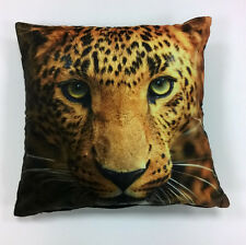 Leopard 45cm by 45cm Cushion Cover Animal Theme Urban Unique