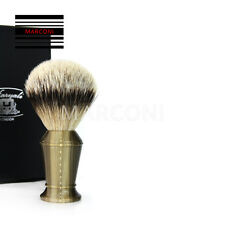 Pure Badger Silver Tip Bristle Shaving Brush Extra Large Buffalo horn handle