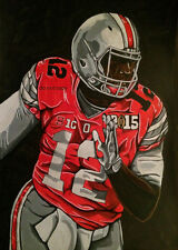 Cardale Jones Ohio State Painting signed