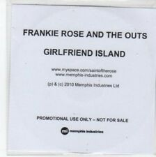 (BQ629) Frankie Rose And The Outs, Girlfriend Island - 2010 DJ CD