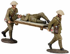 BRITAINS SOLDIERS WW1 BRIT-REGIMENT AID POST No3 /3 piece LIMITED EDITION-23033