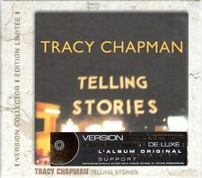 TRACY CHAPMAN - Telling Stories France GOLD AWARD CD Box ~ LIMITED EDITION!