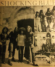 1 german clipping SHOCKING BLUE MARISKA VERES N. SHIRTLESS BOY BAND BOYS GROUP
