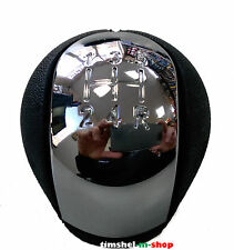 GEAR SHIFT KNOB CHROME OPEL VAUXHALL COMBO  VECTRA B VECTRA C ASTRA G  5 SPEED