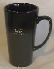 "Infiniti Mug Cup Luxury Cars Advertising Black Grey Gray 6"" Ceramic"