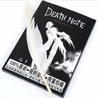 Collectable Death Note Anime Cosplay Notebook & Feather Pen Book Writing Journal