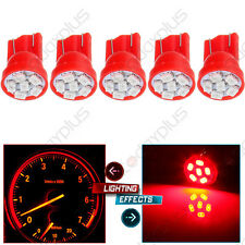 5 T10 194 8SMD Red LED bulb combo Interior Truck Light For Dodge Buick  Benz