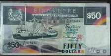 SINGAPORE $50 BANKNOTE - F/63 919494