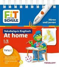 Fit für die Schule TING Vokabelquiz Englisch At home, Sach-Lehrbuch für HÖRSTIFT