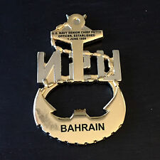 B62 Bahrain Navy Chief Petty Officer CPO Challenge Coin
