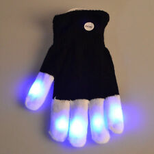LED Rave Flashing Glove Glow 7 Mode Light Up Finger Lighting For Show Party etc