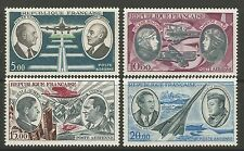 FRANCE. 1970-73. Pioneer Aviators Set. SG: 1890/93. Mint Never Hinged.