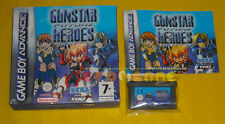 GUNSTAR FUTURE HEROES Game Boy Advance GBA Versione Italiana Gun Star » COMPLETO