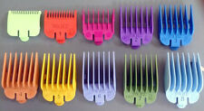 Wahl Clipper Colour Attachment Combs x 10 - 0.5 + 1.5 + 1-8