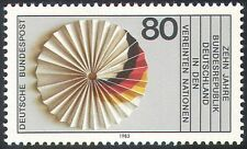 Germany 1983 Tenth Anniversary of UN Membership/Flag/Rosette 1v (n23573)
