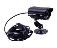 Indoor Outdoor USB Wired Bullet CCTV Security Camera IR Night Vision Waterproof