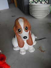 Cute Ceramic House of Lloyd Puppy Dog Pencil and Notepad Holder