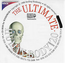 DK The Ultimate HUMAN BODY version 2.0 CD-ROM for Windows, NEW 1996