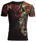 Xtreme Couture AFFLICTION Mens T-Shirt TELEPHUS Skull Tattoo Biker UFC S-4XL $40