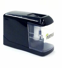 Black Automatic Electric Battery / USB Operated Desktop Pencil Sharpener CL-9008