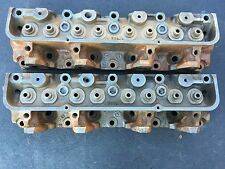 Ford 390 428 PI Cylinder head pair C8AE-?  Matching From 1969 Mercury Police Car
