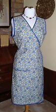 VINTAGE RETRO WWII WRAPOVER 1940S FANCY DRESS APRON - 2 SIZES 10/14 OR 16/20