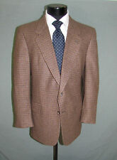 Immaculate Christian Dior Two Buttons Brown Check Fall Winter Men Jacket 42 S