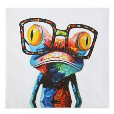 HD Unframed Canvas Sunglasses Cartoon Frog Print Picture Kids Wall Art Decor