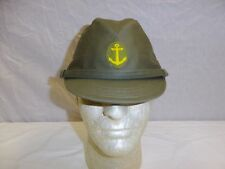 b3556 WWII Japanese Marine Naval Landing Force Green Cotton Field Cap EM size 59
