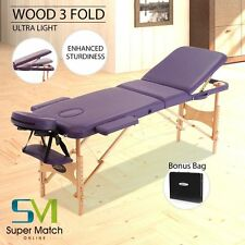 """Genki 84""""L Portable Massage Table Facial SPA Bed Tattoo w/Free Carry Case"""