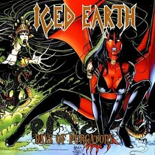 Iced Earth - Days Of Purgatory Vinyl LP Heavy Metal Retro Sticker Or Magnet