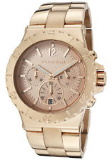 Michael Kors Ladies Dylan Rose Gold Chronograph Designer Watch MK5314