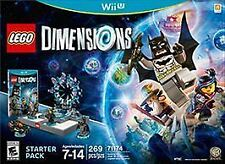 NEW Opened Box LEGO Dimensions: Starter Pack (Nintendo Wii U, 2015)