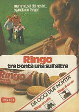 X2342 Biscotti RINGO al caffè - Pubblicità 1980 - Advertising