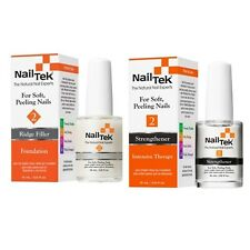Nail Tek Intensive Therapy II & Foundation II - 0.5oz / 15ml Each