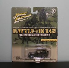 Johnny Lightning Battle of the Bulge WWII Willys MB Jeep w/top 1/64
