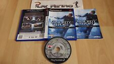 PLAY STATION 2 PS2 MINORITY REPORT COMPLETO PAL ESPAÑA