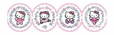 Hello Kitty Ballet on White Sure Strip Laser Cut Wallpaper Border BT2786BD