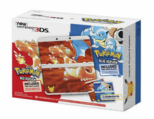 Hacked Modded Dual IPS screens Pokemon 20th Anniversary Red Blue Edition New 3DS