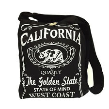 The Golden State Graphic Tote Messenger Bag