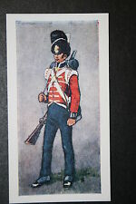 7th (Royal Fusiliers) Regiment of Foot  circa 1815 Vintage Card