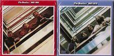 The Beatles 1962-1970 Blue Red Albums 4CD + 2DVD Mini LP Edition DVD PAL. +NTSC