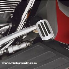 BRAKE PEDAL KIT CHROME VICTORY MOTORCYCLE CROSS COUNTRY, MAGNUM, VISION, VEGAS