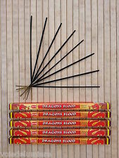 ENCENS SANG DE DRAGON (Dragons Blood - sangre de dragón) Lot de 5  Boites de 8
