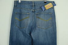 Vintage Mens NEXT Jeans W 34 L 32 (SHABBY CASUALS) STRAIGHT BUTTON FLY P5
