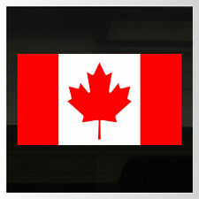 """Canada Canadian Flag LARGE! Durable! Decal Sticker 18""""x10"""""""