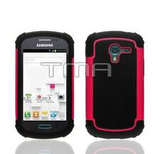 Impact Dual Layer Shock Proof Case For Samsung Galaxy Ace 2 II-E T599 - Hot Pink