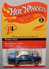 2014 Hot Wheels RLC '66 SUPER NOVA Rewards Car #3131/10200