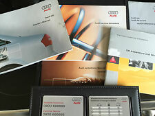 Audi A6. C5 Owners manual, service book etc 2001-2004 RARE